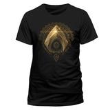 La Liga de la Justicia - Símbolo de Aquaman Camisetas