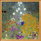 Flower Garden, 1905-07 Framed Giclee Print by Gustav Klimt