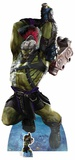 Thor: Ragnarok - Hulk Strongest There Is - Mini Cutout Included Cardboard Cutouts