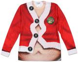 Fat Santa Costume Tee Langärmelig