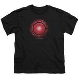 Youth: Justice League Movie - Cyborg Logo Shirts
