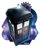Doctor Who - Tardis (Time And Relative Dimension In Space) Pappfigurer