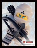 La LEGO Ninjago película - Zane Lámina de coleccionista