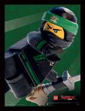 Lega Ninjago - il film - Lloyd, primo piano Stampa del collezionista