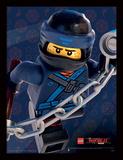 Lego Ninjago - il film - Jay, primo piano Stampa del collezionista