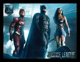 La Liga de la Justicia - Listos para la acción Lámina de coleccionista