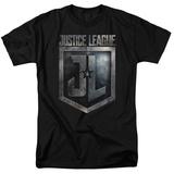 Justice League Movie - Shield Logo Shirts