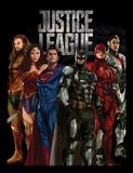 La Liga de la Justicia - De pie Lámina de coleccionista