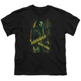 Youth: Justice League Movie - Aquaman T-shirts