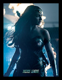 La Liga de la Justicia - Wonder Woman en territorio enemigo Lámina de coleccionista