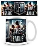 La Liga de la Justicia - Unite the league Taza