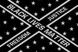 Black Lives Matter -Flagge Poster