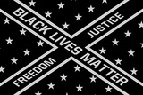 Black Lives Matter Flag Posters