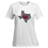 Womens: Texas Roses T-Shirt T-Shirt