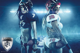 Legends Football League - Pair Poster