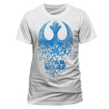 Star Wars: The Last Jedi - Jedi Badge Explosion T-shirts