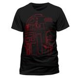 Star Wars: The Last Jedi - R2-D2 Lines T-Shirt