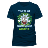 Rick and Morty - Riggity Riggity Wrecked Shirts