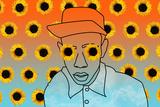Sunflower Boy Poster