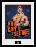 WWE - John Cena You Can't See Me Lámina de coleccionista