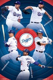 Los Angeles Dodgers - Team 17 Poster