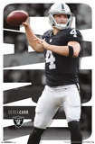 Oakland Raiders - D Carr 17 Posters