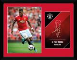 Manchester United - Pogba 17-18 Lámina de coleccionista