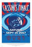 NASA Cassini: Swan Song Posters