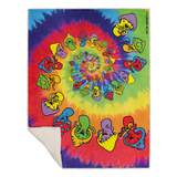 Spiral Shrooms Blanket Fleece Blanket
