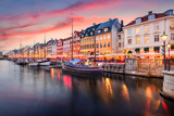Copenhagen, Denmark on the Nyhavn Canal. Photographic Print by Sean Pavone