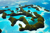 Beautiful View of 70 Islands in Palau from Above Photographic Print by BlueOrange Studio