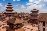 Bhaktapur is UNESCO World Heritage Site Located in the Kathmandu Valley, Nepal. Photographic Print by  Hakat