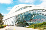 April 6, 2014 Singapore. Building in the Park Gardens by the Bay, Singapore. Photographic Print by Lucy Liu
