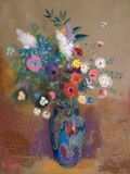Buquê de flores Pôsters por Odilon Redon