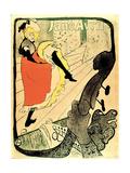 Jane Avril Posters por Henri de Toulouse-Lautrec