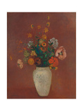 Bouquet in a Chinese Vase Pôsteres por Odilon Redon
