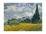 Cypresses II Poster por Vincent van Gogh