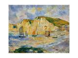 Sea and Cliffs Posters por Auguste Renoir