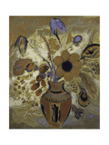 Etruscan Vase with Flowers Pôsters por Odilon Redon
