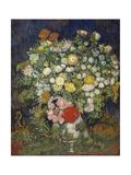 Bouquet of Flowers in a Vase Poster por Vincent van Gogh