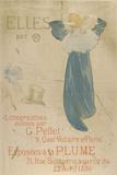 Elles (poster for 1896 exhibition at La Plume) Pôsters por Henri de Toulouse-Lautrec