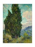 Cypresses I Poster por Vincent van Gogh
