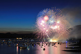 Celebration of Lights, Fireworks Display at English Bay, Vancouver, BC Photographic Print by Lijuan Guo