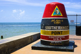 Southernmost Point in Continental USA in Key West,Florida Photographic Print by  nito