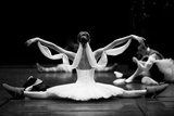 Gorgeous Ballerina Repeating Movements Backstage Photographic Print by Anna Jurkovska