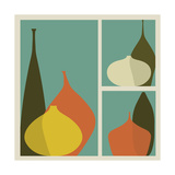 Triptych of Vases Photographic Print by  trendywest