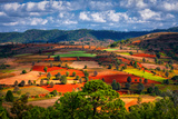 Landscapes of Shan State, Myanmar Photographic Print by Yury Birukov