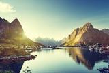 Reine Village, Lofoten Islands, Norway Photographic Print by Iakov Kalinin