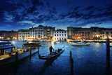 Grand Canal in Sunset Time, Venice, Italy Photographic Print by Iakov Kalinin