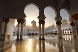 Sheikh Zayed Mosque in Abu Dhabi, United Arab Emirates, Middle East Photographic Print by  Samot